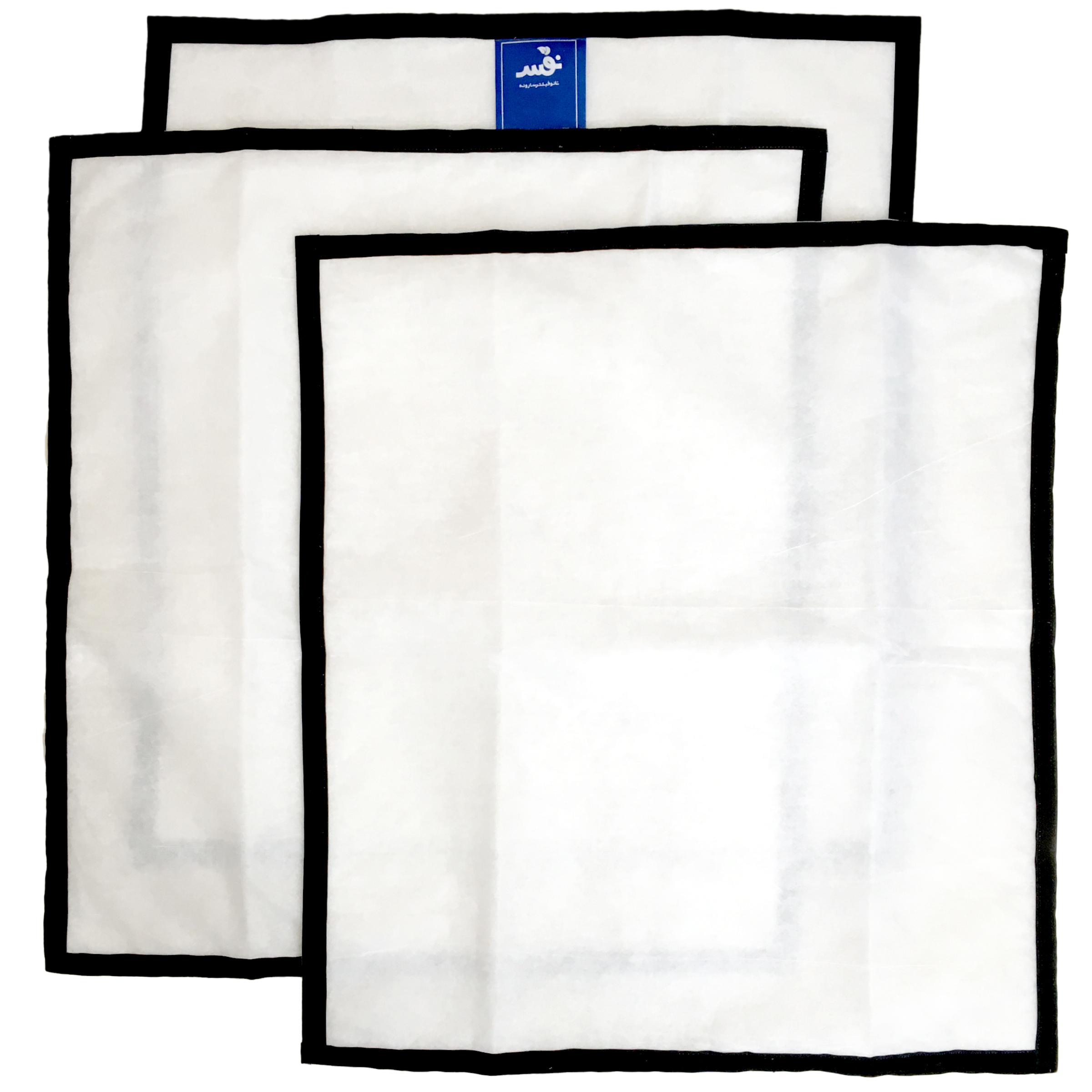 فیلتر یدک تصفیه کننده هوا کولر آبی مدل پلاس 7000 بسته 3 عددی