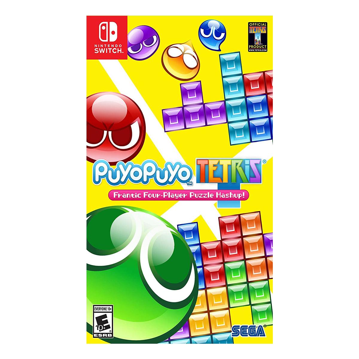 بازی Puyo Puyo Tetris مخصوص Nintendo Switch