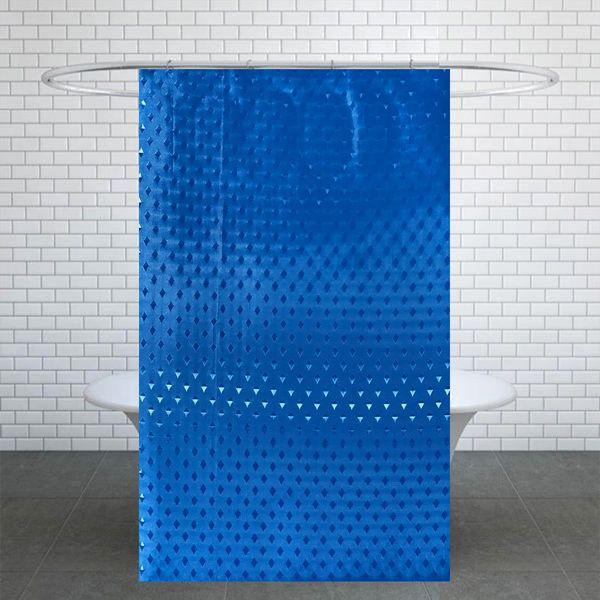پرده حمام کد L220 سایز 180x220 سانتی متر