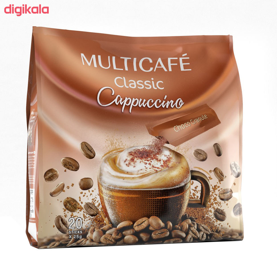 کاپوچینو مولتی کافه - 25 گرم بسته 20 عددی main 1 4