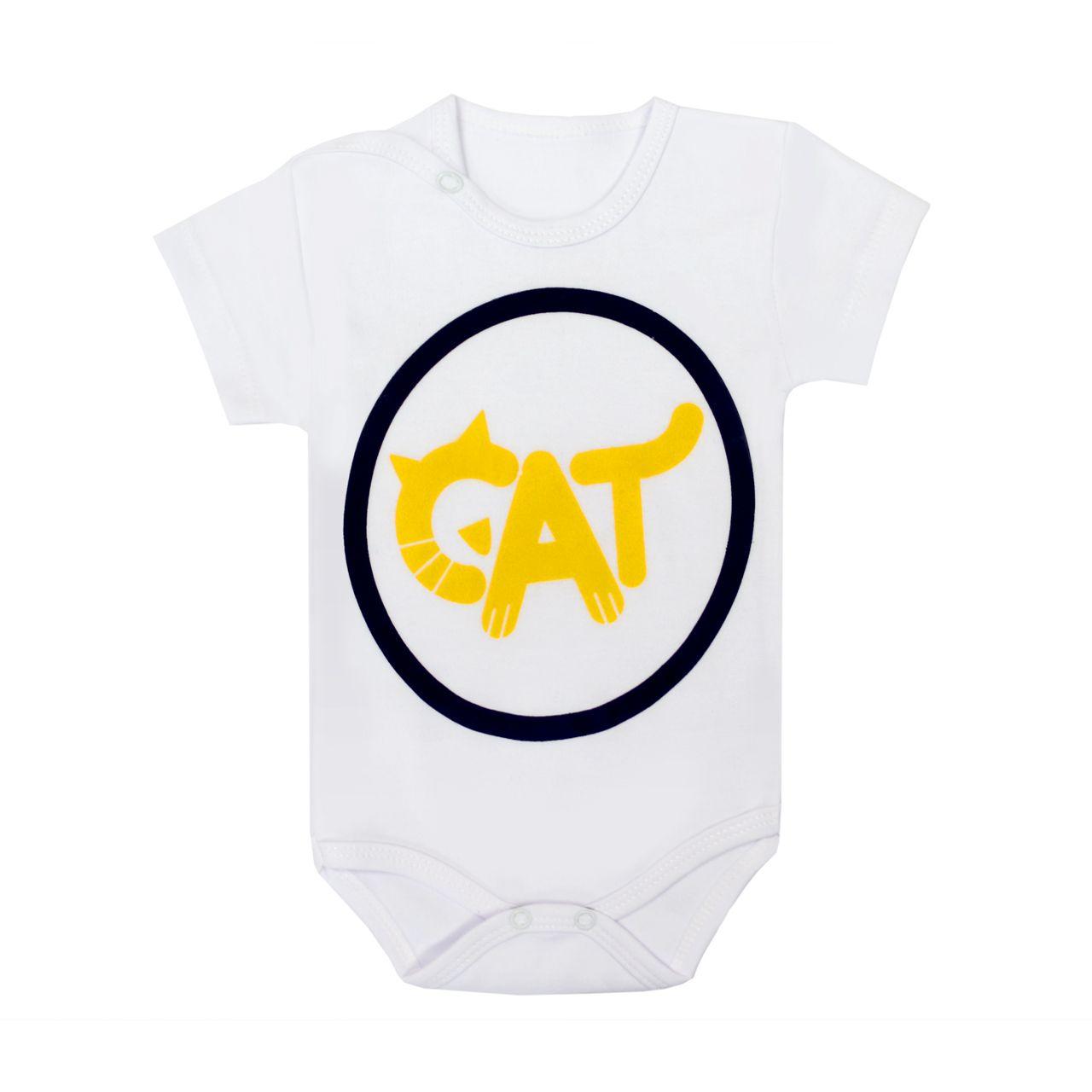 ست 3 تکه لباس نوزادی بی بی وان مدل گربه کد 486 -  - 4