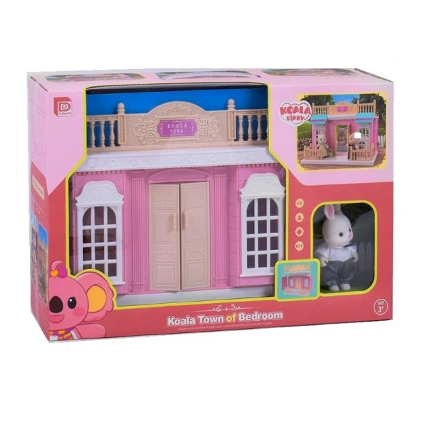 ست اسباب بازی لوازم خانه مدل کوالا و خرگوش