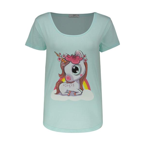 تی شرت زنانه مون مدل 163120450