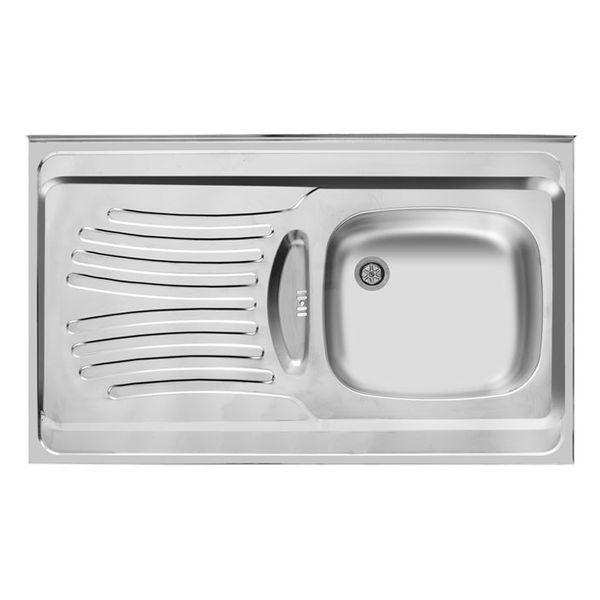 سینک ظرفشویی اخوان مدل 125 روکار