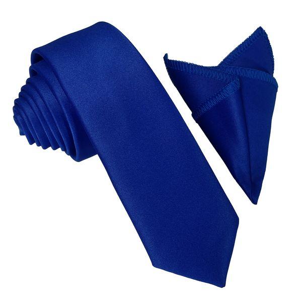 ست کراوات و دستمال جیب مردانه کد BL