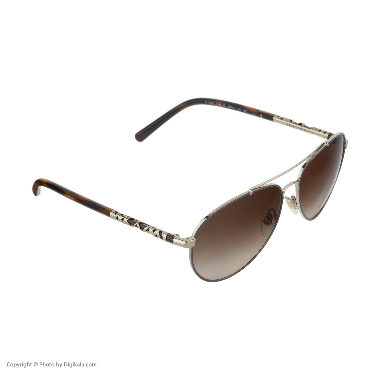 عینک آفتابی زنانه بربری مدل BE 3089S 114513 58 -  - 4
