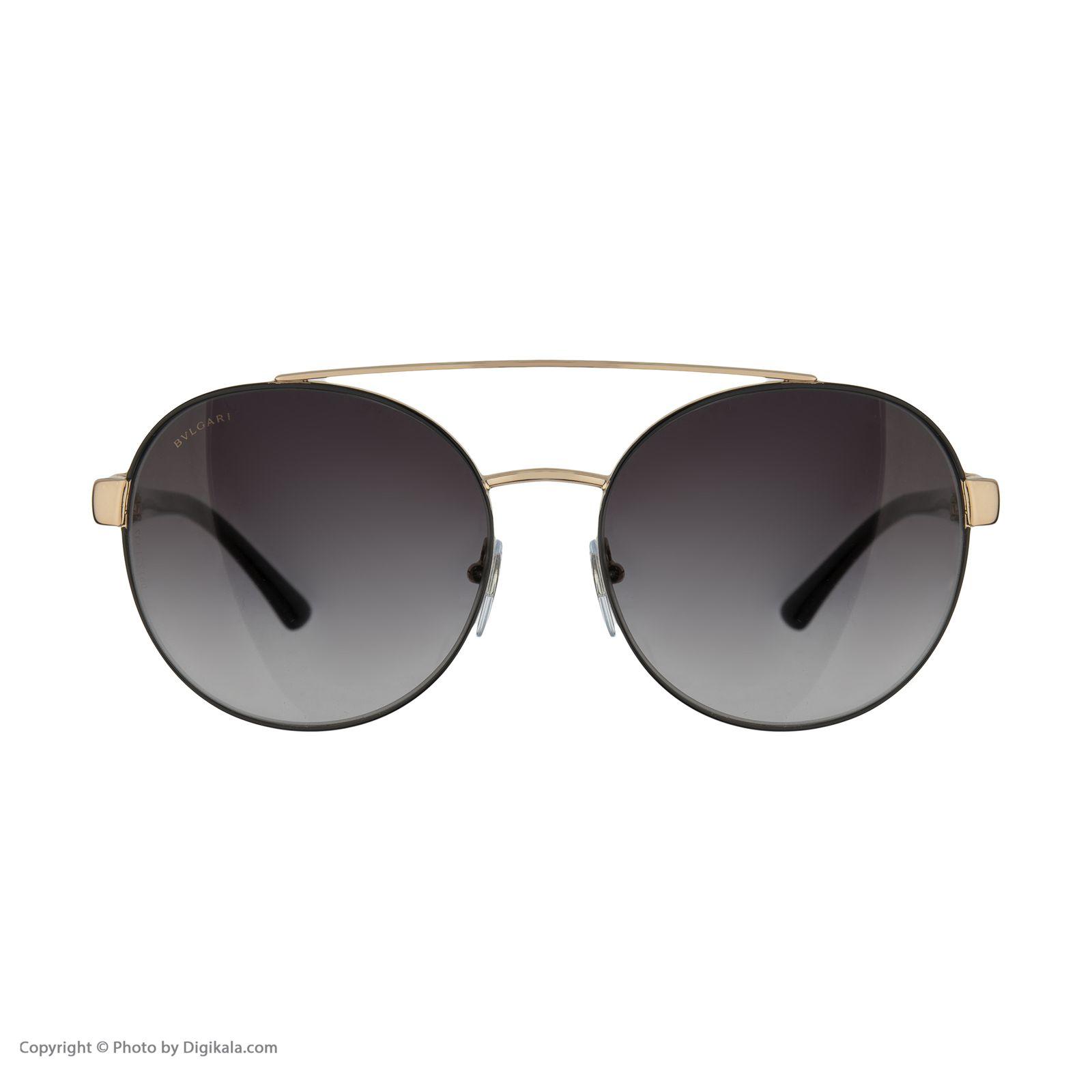 عینک آفتابی زنانه بولگاری مدل BV6085B 20238G -  - 3