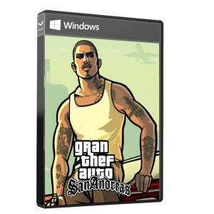 بازی GRAN THEF AUTO SANANDRES مخصوص PC