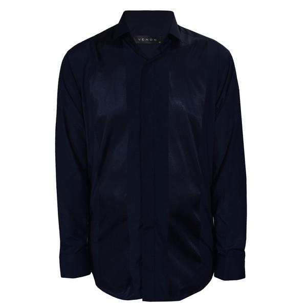 پیراهن آستین بلند مردانه ونورا کد 7019PTR-4