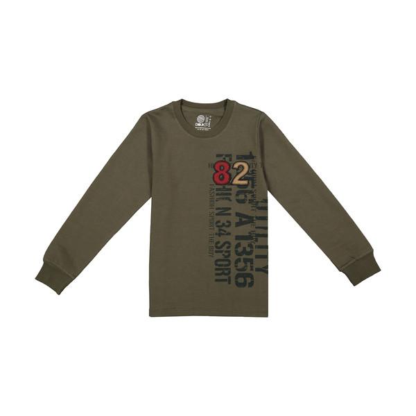 تی شرت آستین بلند پسرانه سون پون مدل 1391366-49