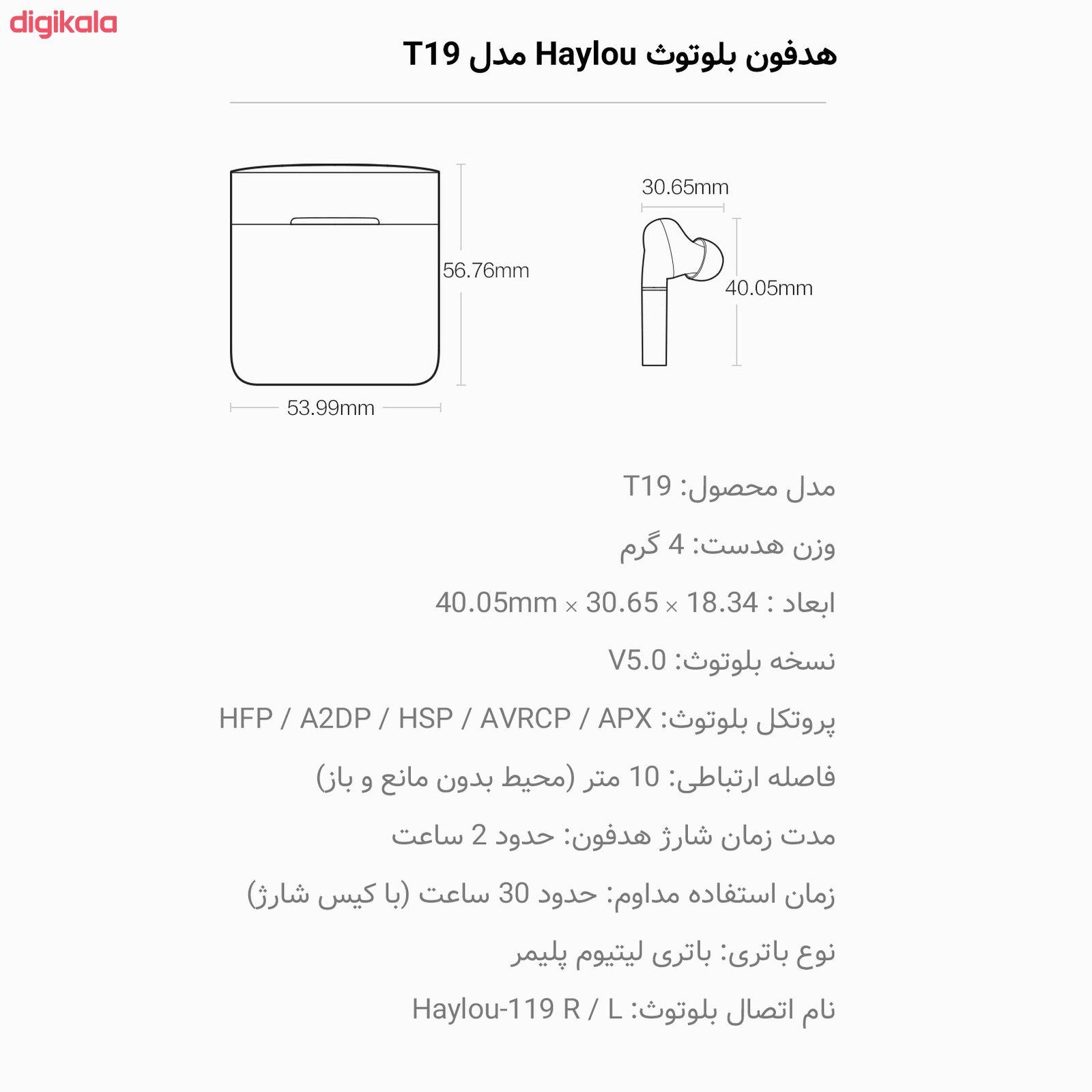 هدفون بی سیم هایلو مدل T19 main 1 15