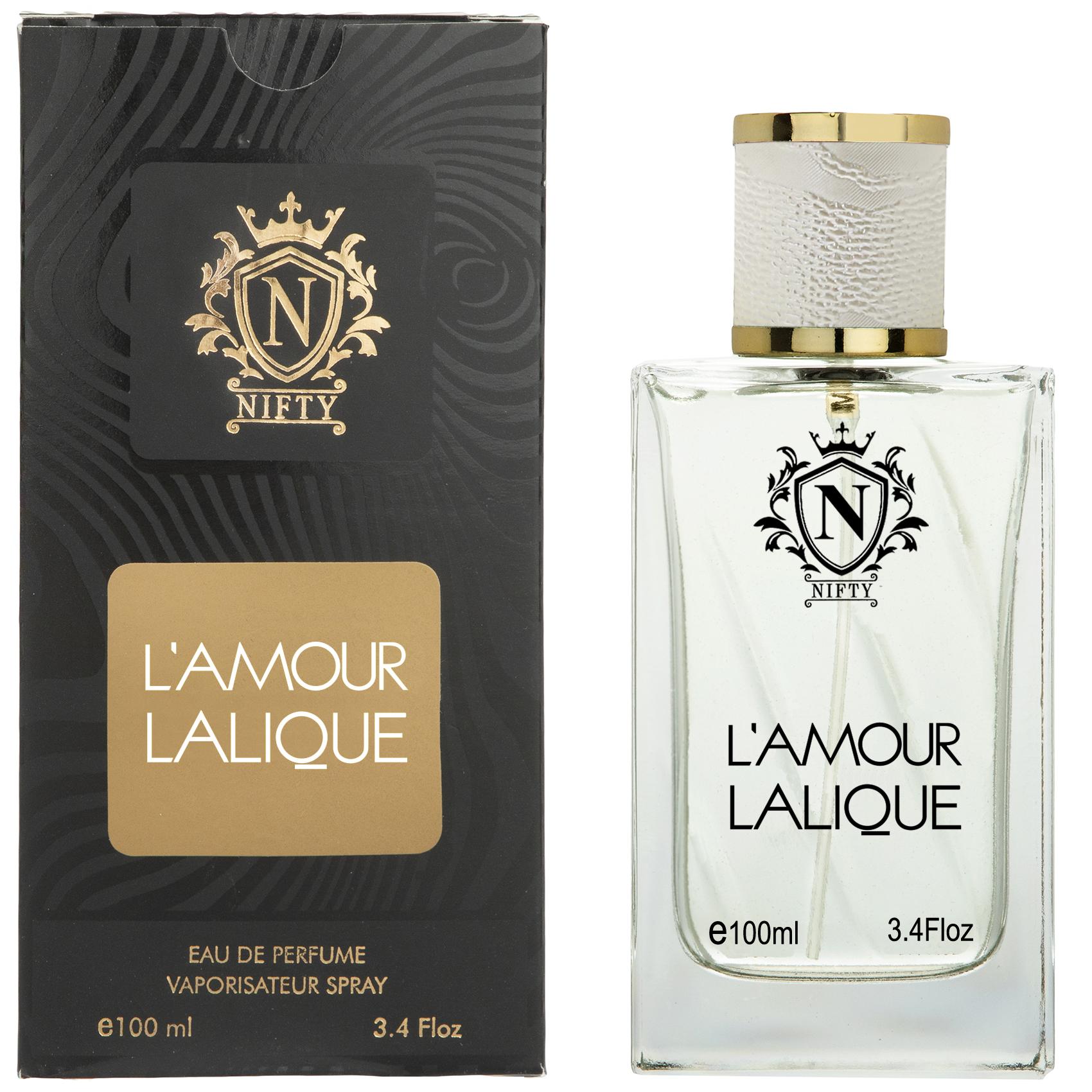 ادو پرفیوم زنانه نیفتی مدل LAMOUR Lalique حجم 100 میلی لیتر