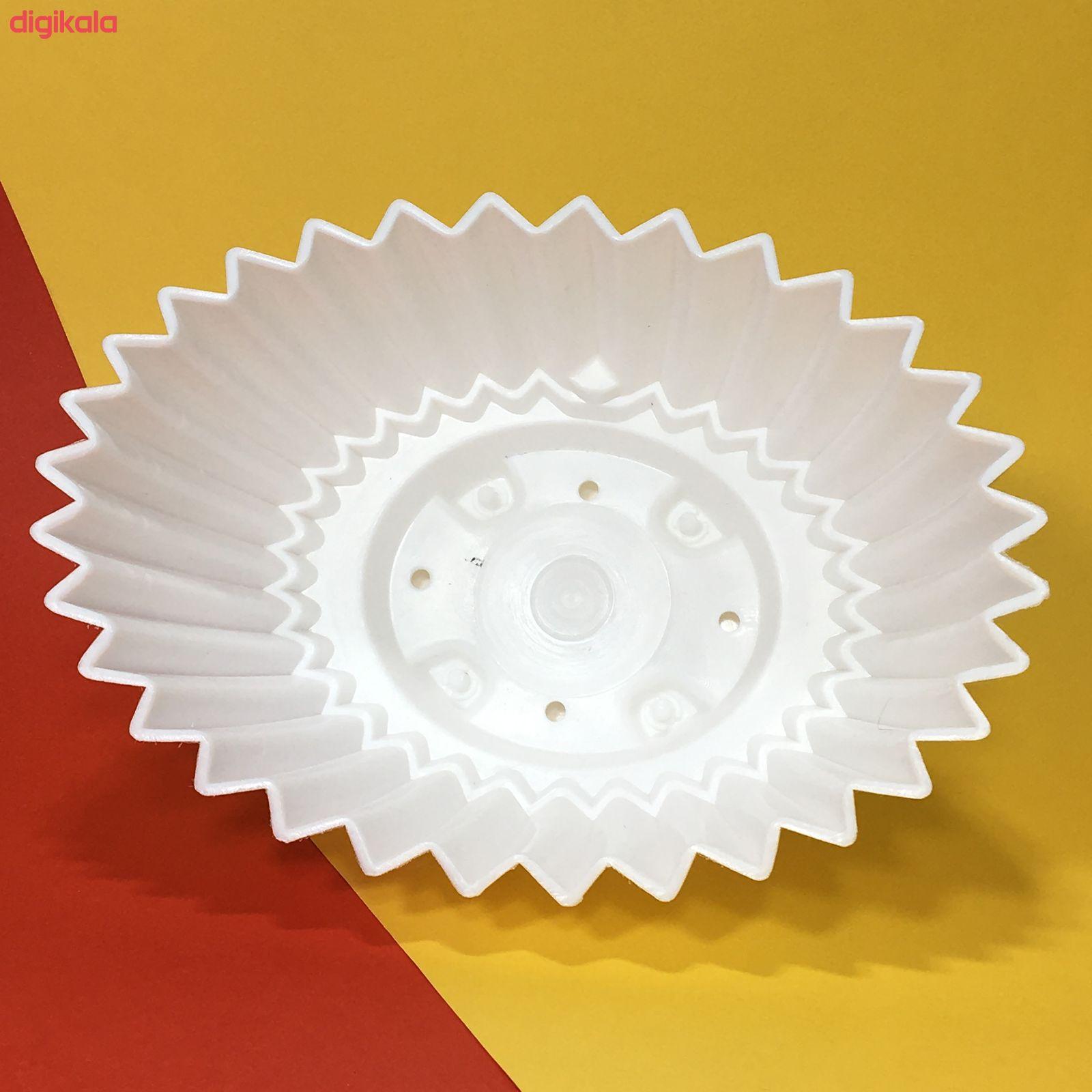 گلدان دانیال پلاستیک کد 3011 مجموعه 3 عددی main 1 2