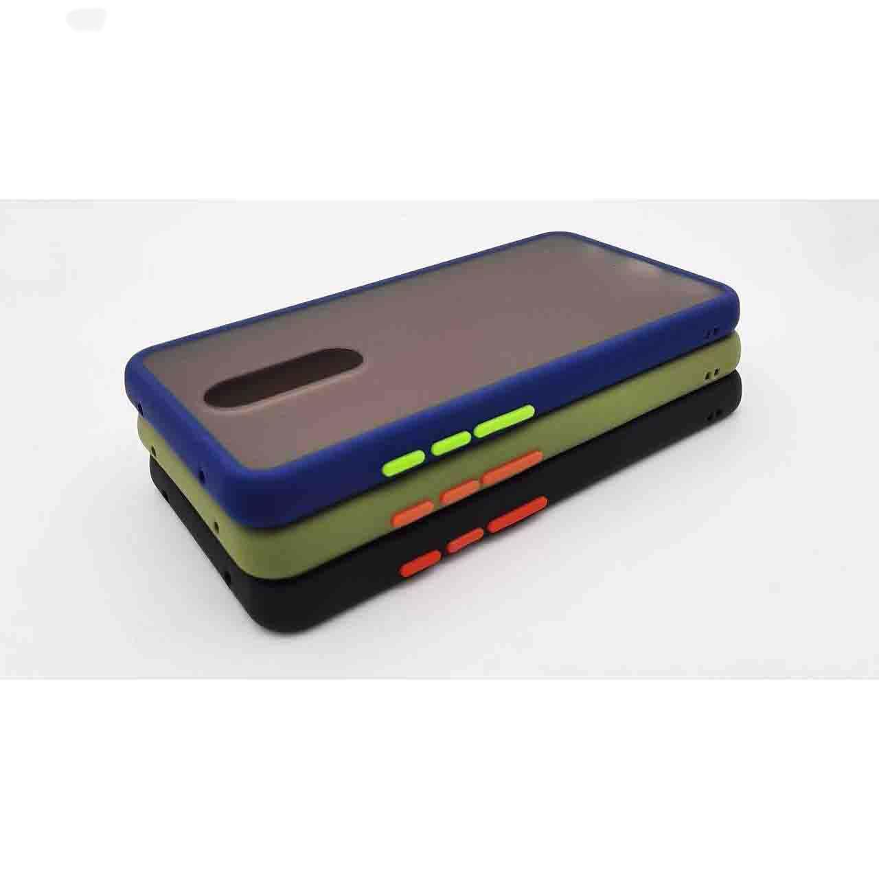 کاور لمبر مدل KEYBDPMC-GCER-1 مناسب برای گوشی موبایل شیائومی Redmi 8 به همراه محافظ صفحه نمایش