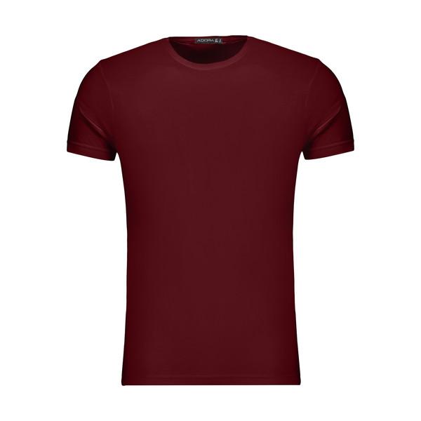 تیشرت آستین کوتاه مردانه ادورا مدل 29915031 رنگ قرمز