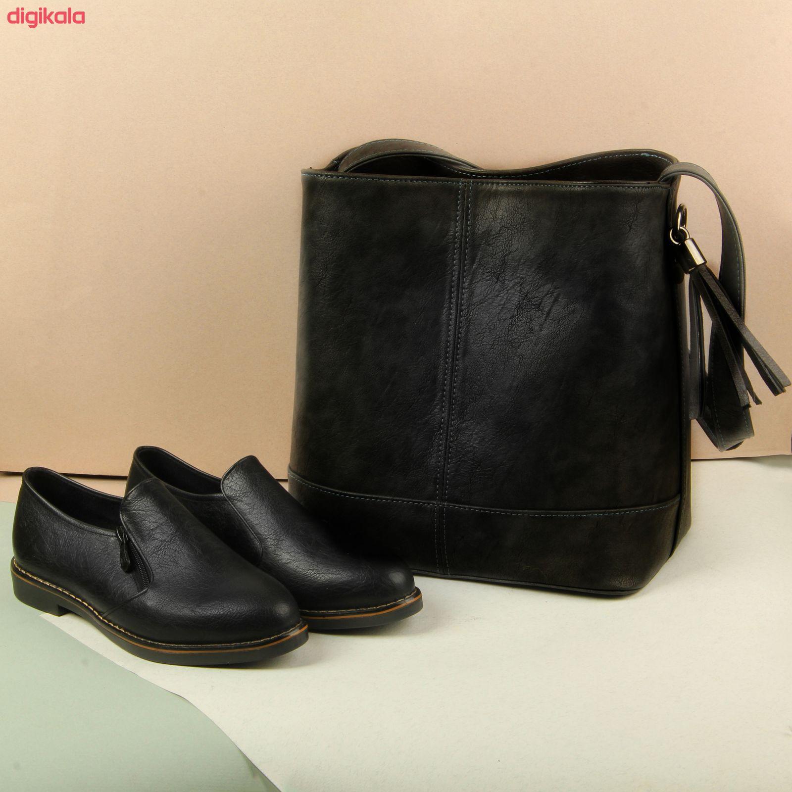 ست کیف و کفش زنانه BAB مدل ترنم کد 910-5 main 1 11
