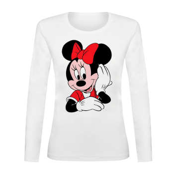 تی شرت آستین بلند زنانه کد TAB01-248