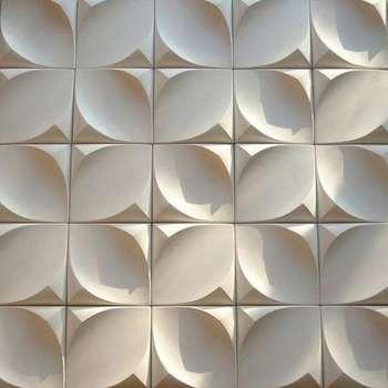 دیوارپوش سه بعدی مدل پرنیان کد A10 بسته 33 عددی