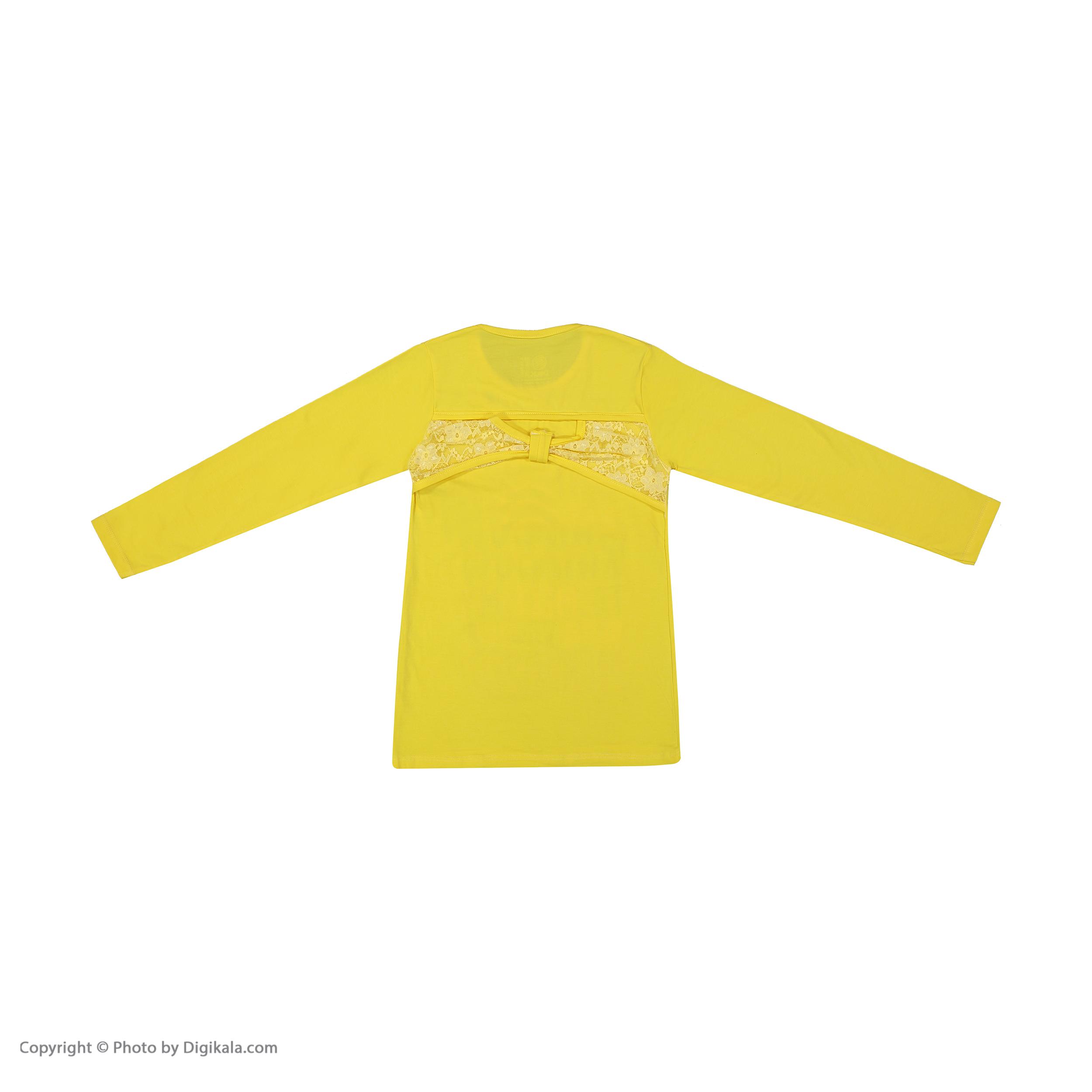 تی شرت دخترانه سون پون مدل 1391353-19 -  - 4