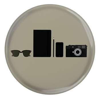 پیکسل طرح دوربین عکاسی و عینک مدل S3125