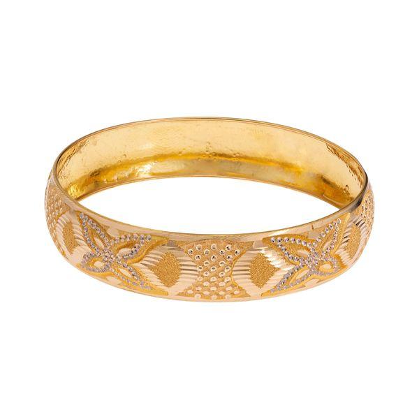 النگو طلا 18 عیار زنانه گالری یارطلا کد AL32-G-3
