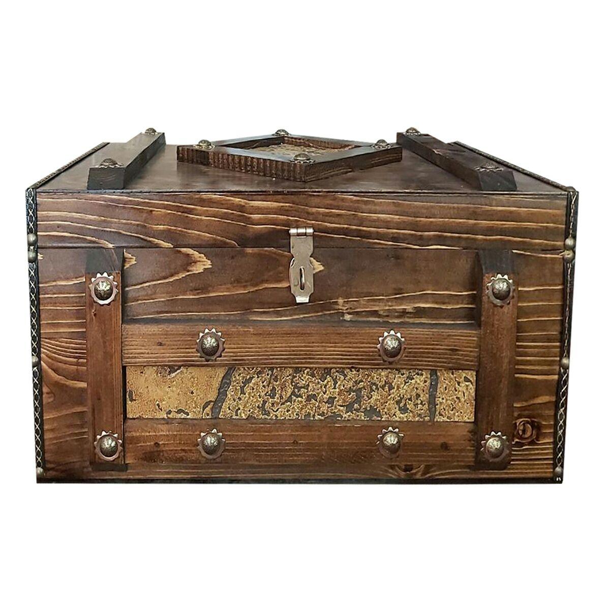 جعبه هدیه طرح صندوقچه مدل ghablim