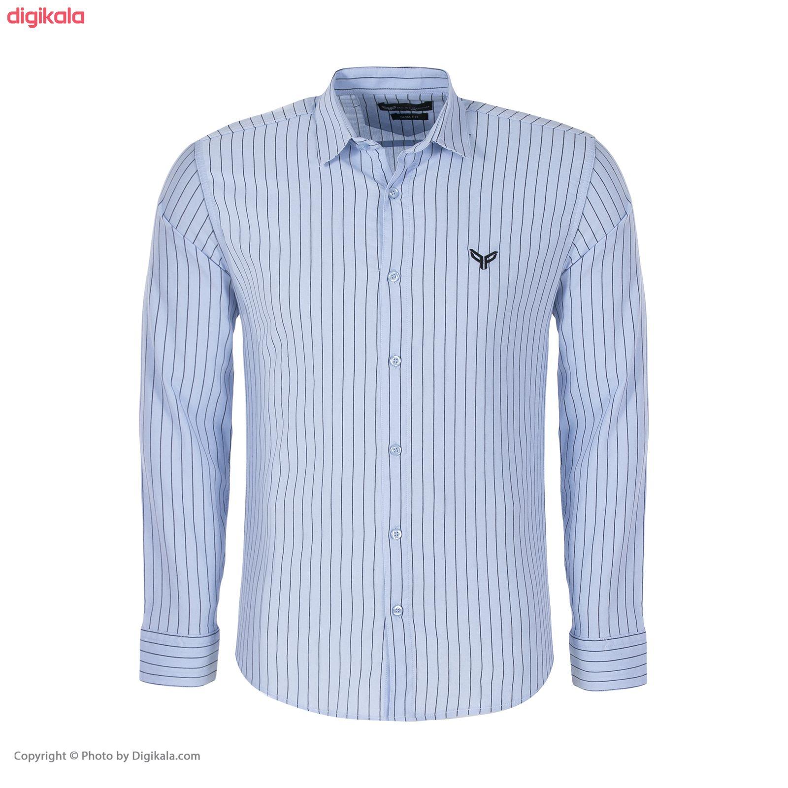 پیراهن مردانه پیکی پوش مدل M02347 main 1 4