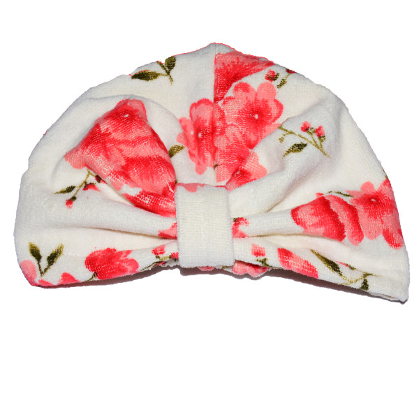 کلاه حمام طرح بهار