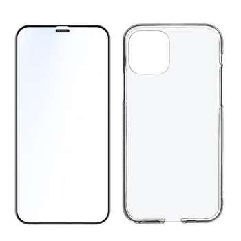 کاورمدلBTIBLKNمناسب برای گوشی موبایل اپلiphone 12 mini به همراه محافظ صفحه نمایش