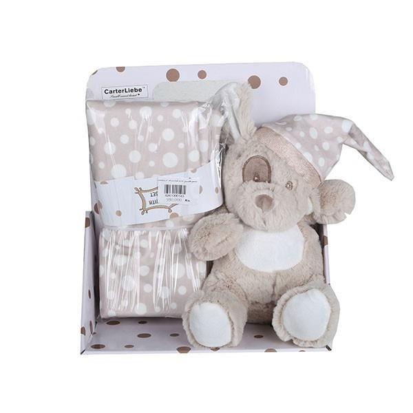 پتو نوزاد کارترلیب مدل 001سایز 70x80 به همراه عروسک