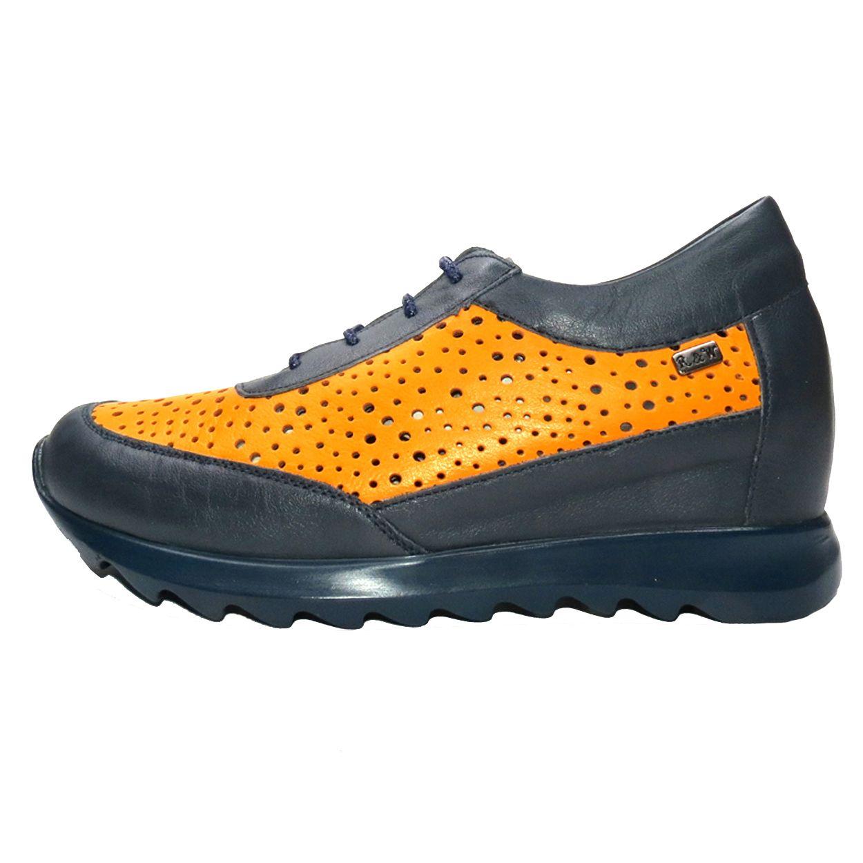 کفش روزمره زنانه آر اند دبلیو مدل 642 رنگ سرمه ای -  - 2