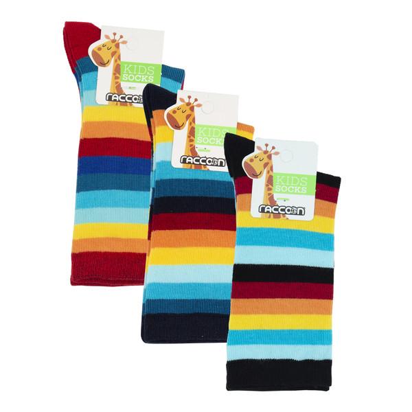 جوراب دخترانه راکون مدل 102610 مجموعه 3 عددی