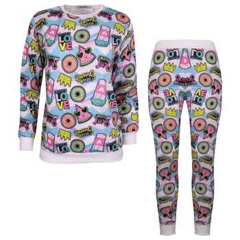 ست تی شرت و شلوار زنانه ماییلدا مدل 3587-5