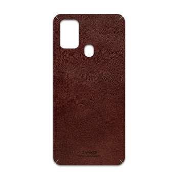 برچسب پوششی ماهوت مدل Natural-Leather مناسب برای گوشی موبایل سامسونگ Galaxy M31