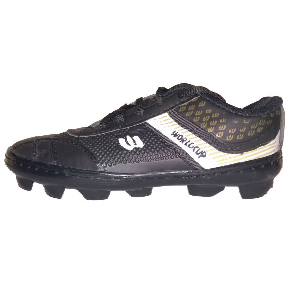 کفش فوتبال پسرانه مدل چمنی 001 رنگ مشکی غیر اصل
