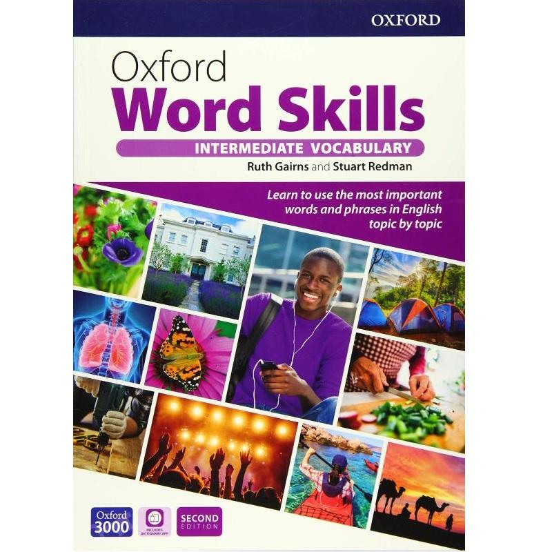 کتاب Oxford Word Skills Intermediate Second Edition اثر Ruth Gairns And Stuart Redman انتشارات Oxford