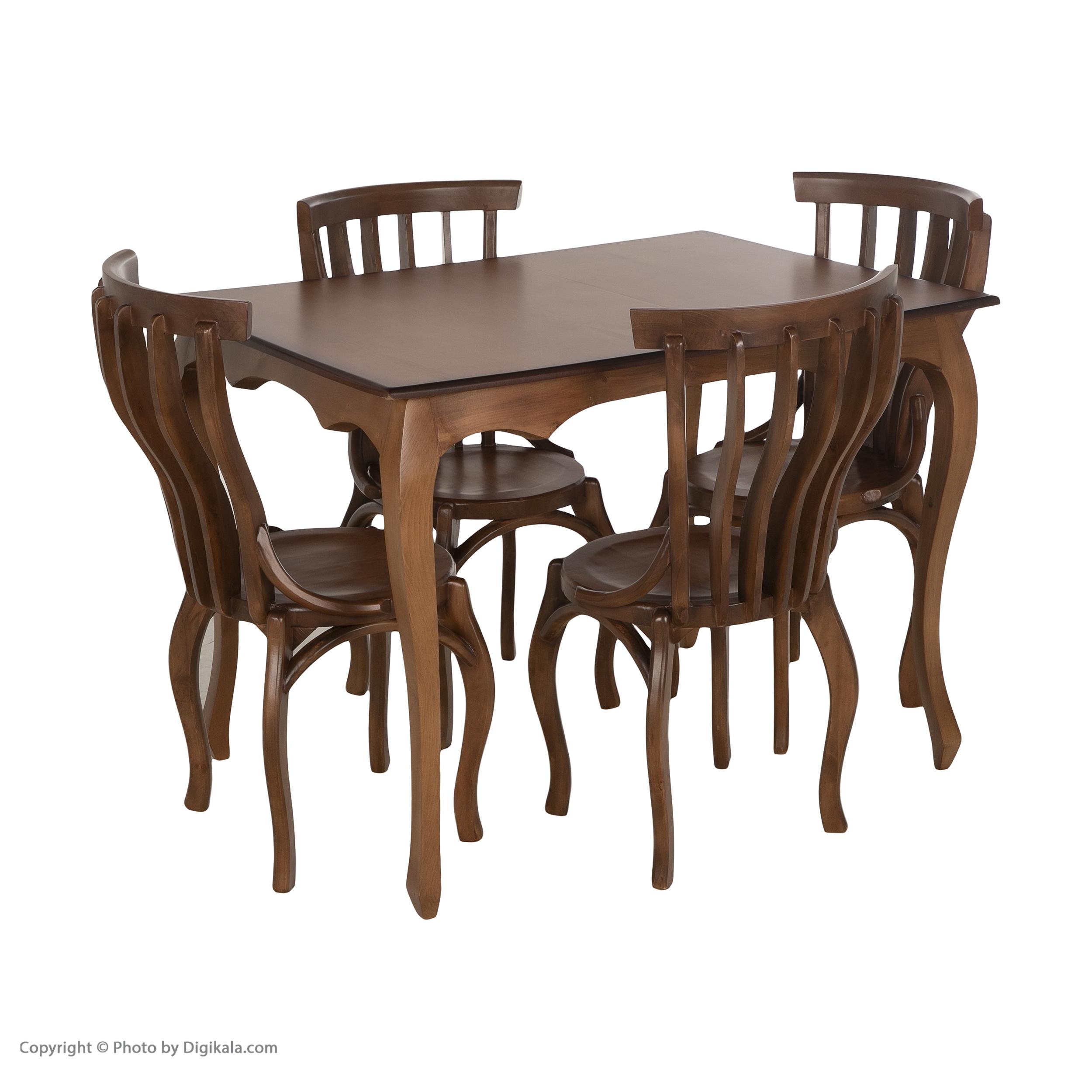قیمت                      میز و صندلی ناهارخوری مدل سناتور کد 10023