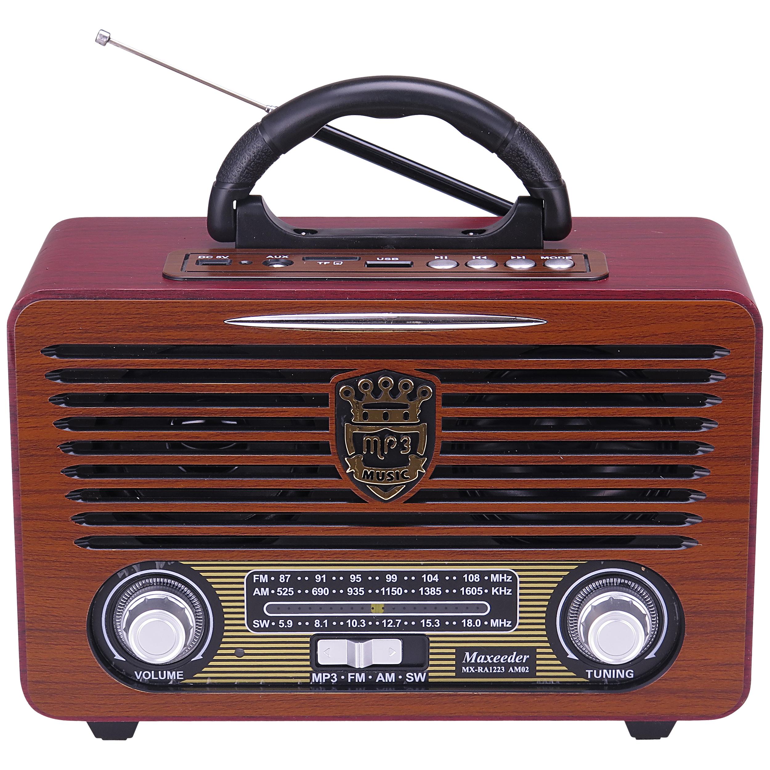 رادیو مکسیدر مدل MX_RA1223