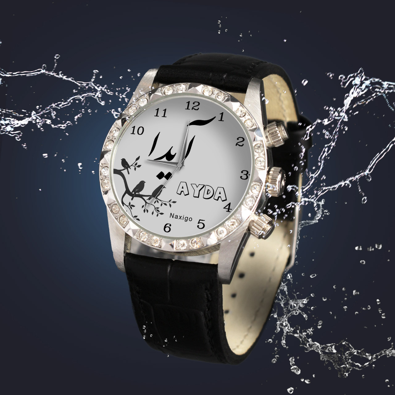 خرید و قیمت                      ساعت مچی  زنانه ناکسیگو طرح آیدا کد LS3781