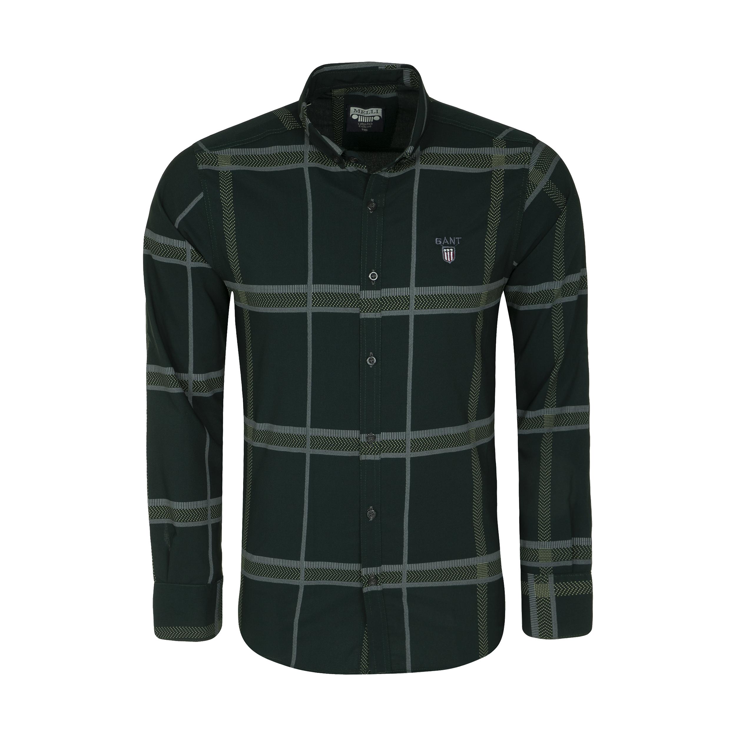 پیراهن آستین بلند  مردانه مدل 344005923                     غیر اصل