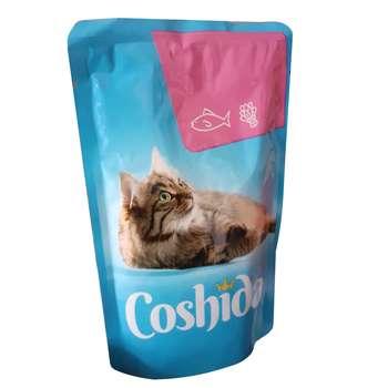 غذای تشویقی گربه کوشیدا مدل salmon & spinach وزن 100گرم