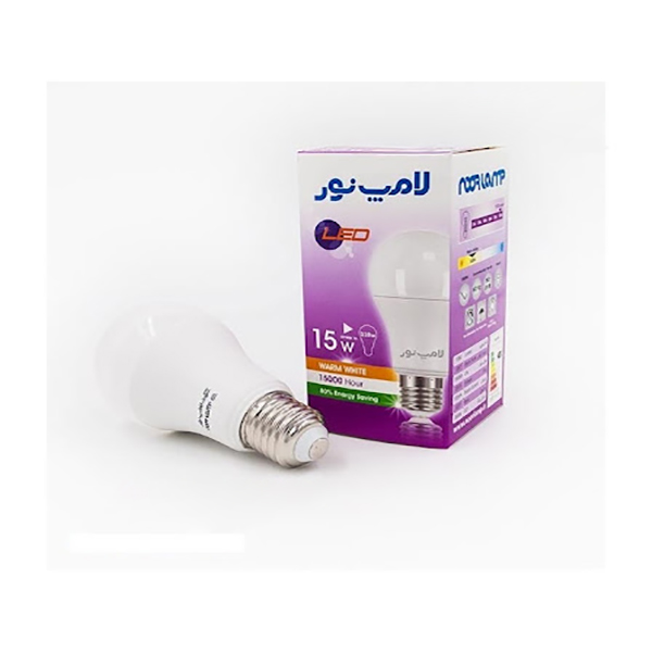 لامپ ال ای دی 15 وات لامپ نور مدل BL پایه E27 بسته 10 عددی