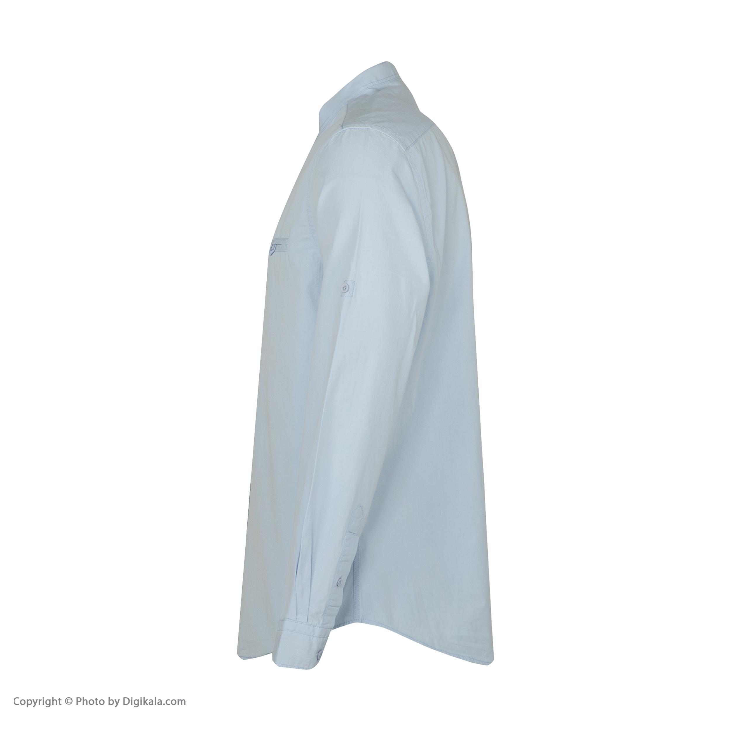 پیراهن آستین بلند مردانه کوتون مدل 8YAM62398BW-600
