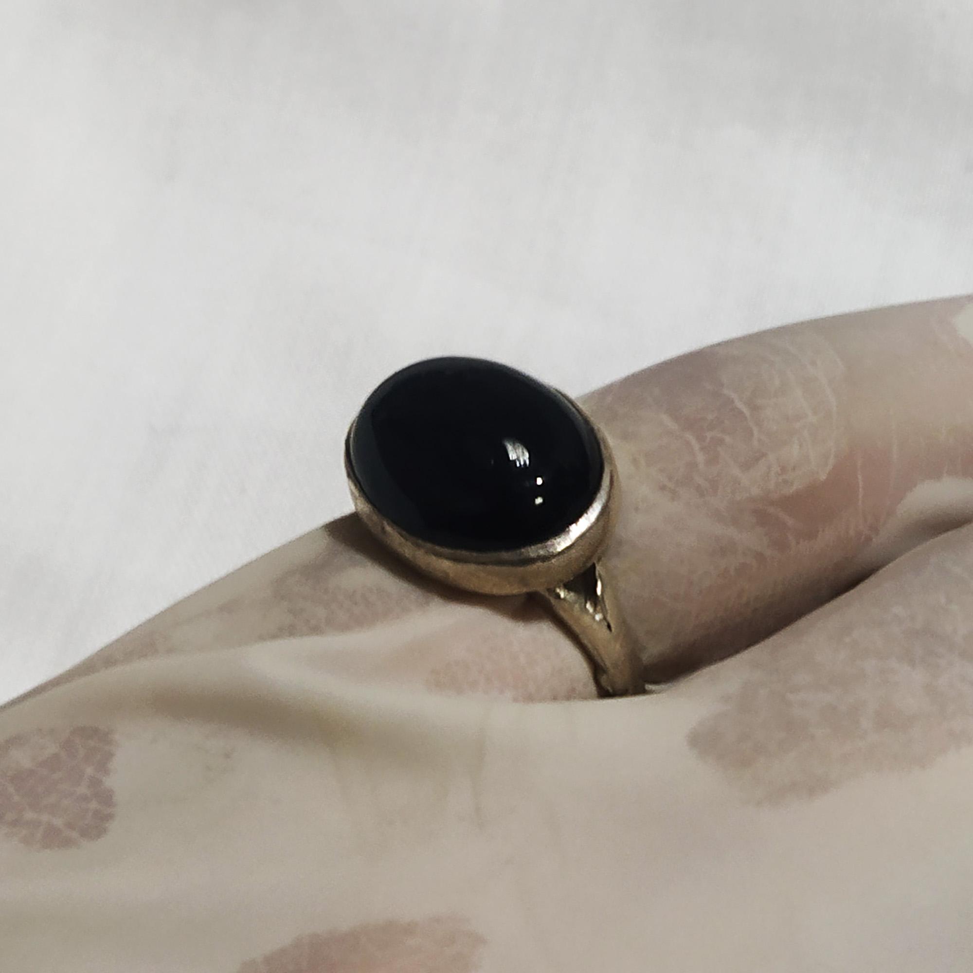 انگشتر نقره مردانه سلین کالا مدل عقیق ce-As80