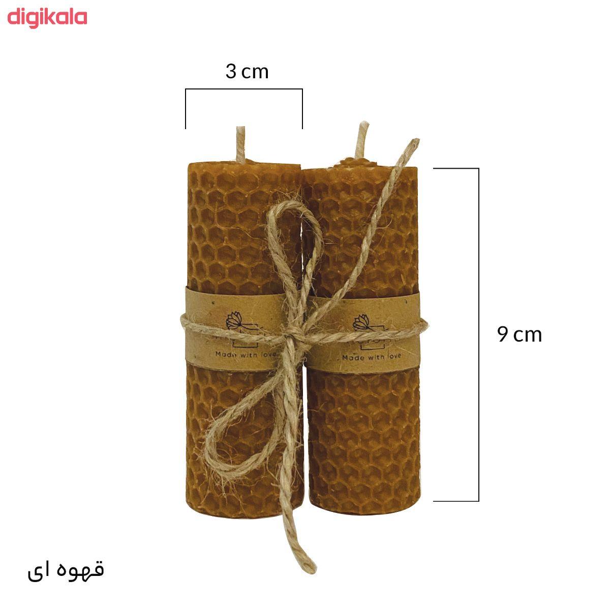 شمع ملورین کد M0010 بسته ۲ عددی main 1 3