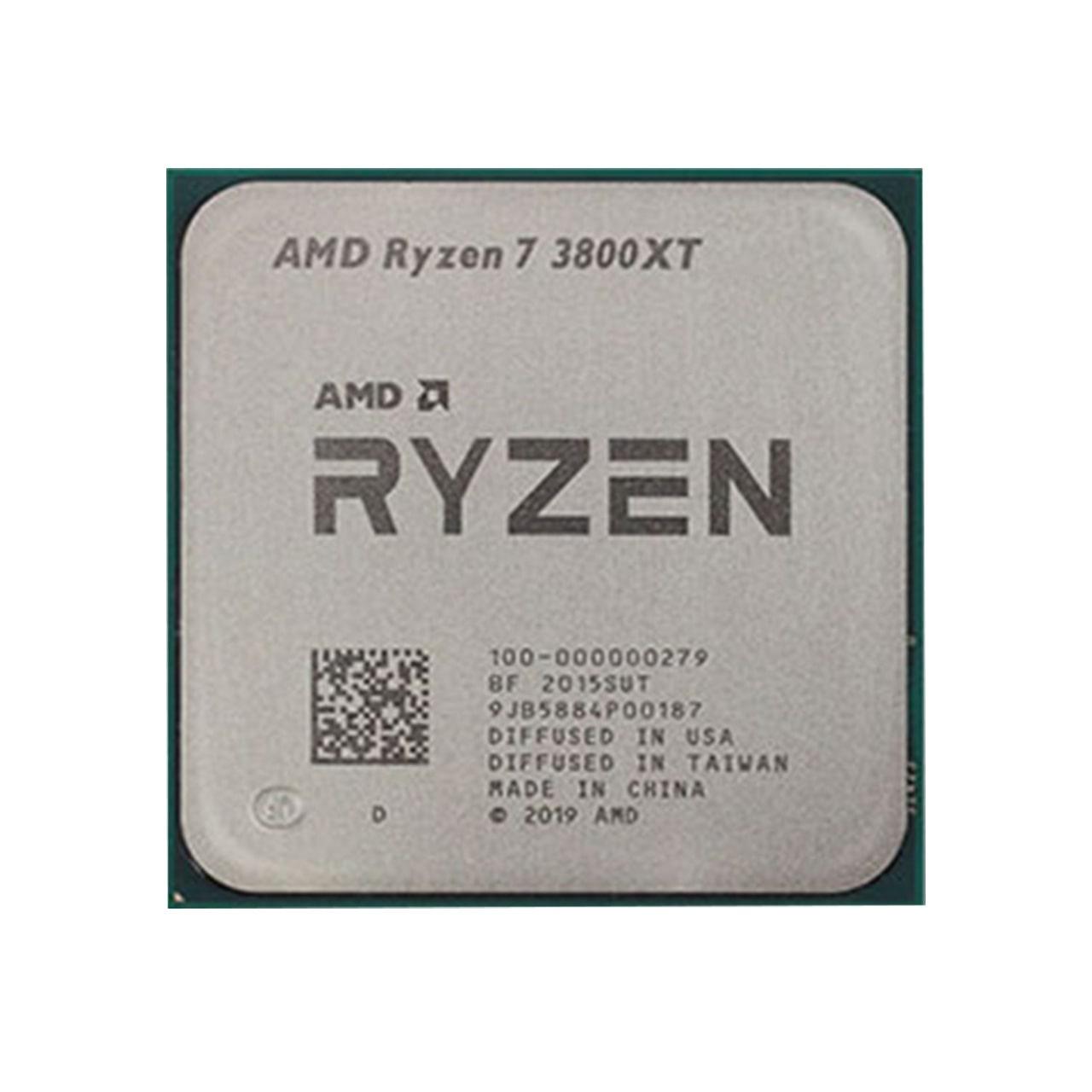 پردازنده مرکزی ای ام دی مدل Ryzen 7 3800XT