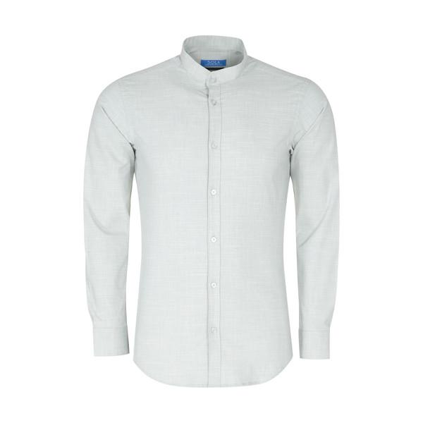 پیراهن مردانه سولا مدل SM420640027-PALEGREEN