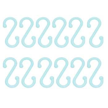 قلاب آویز لیوان مدل S بسته 12 عددی