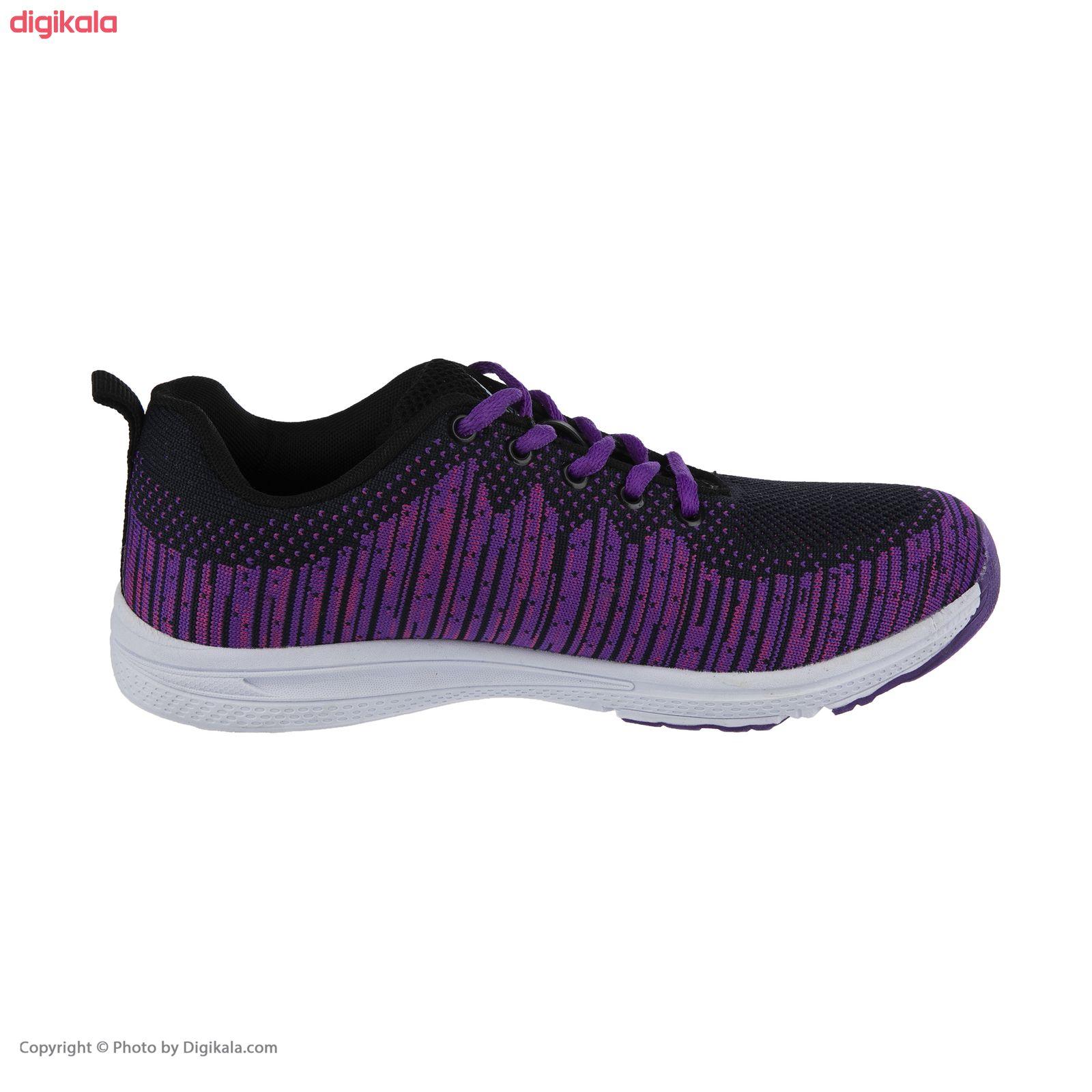 کفش مخصوص پیاده روی زنانه ملی مدل 83590572 رنگ بنفش main 1 3