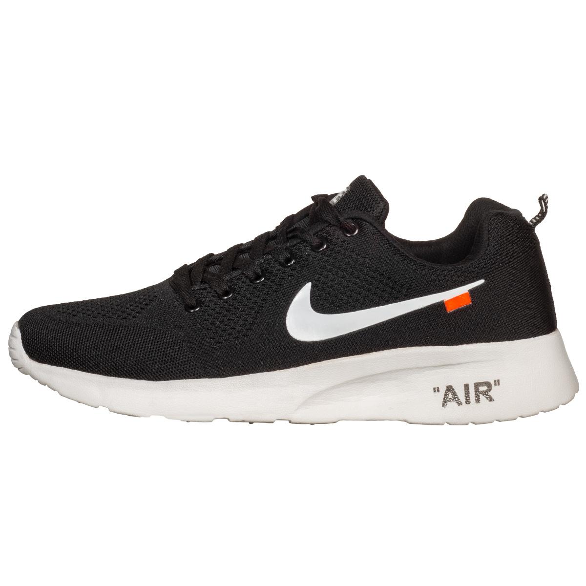 کفش پیاده روی مردانه نایکی مدل AIR BIGFEET BLKWHT7717             , خرید اینترنتی